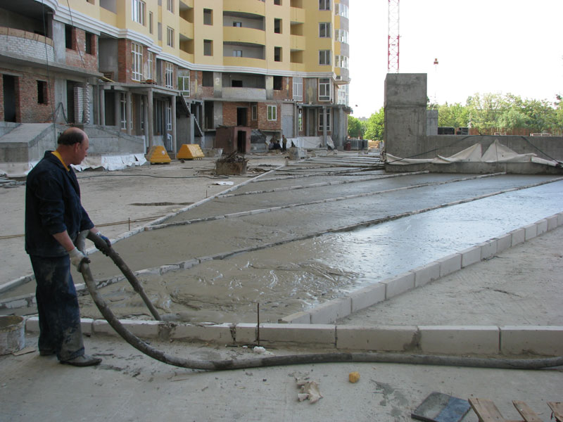 Kiev Construction Foam Concrete Industrial
